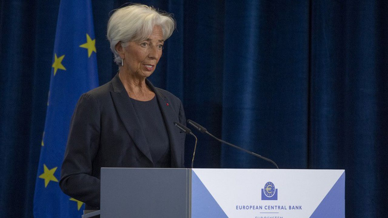 Christine Lagarde prendra ses fonctions de présidente de la BCE vendredi.