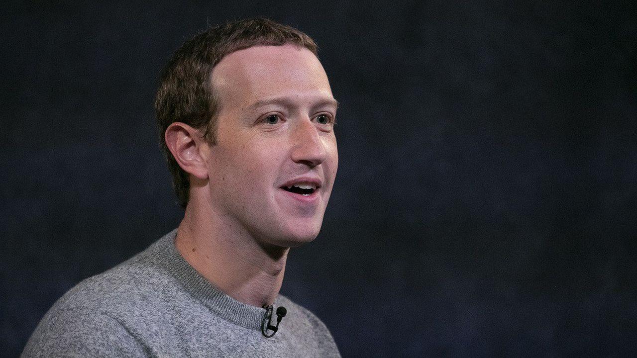Le CEO de Facebook CEO Mark Zuckerberg