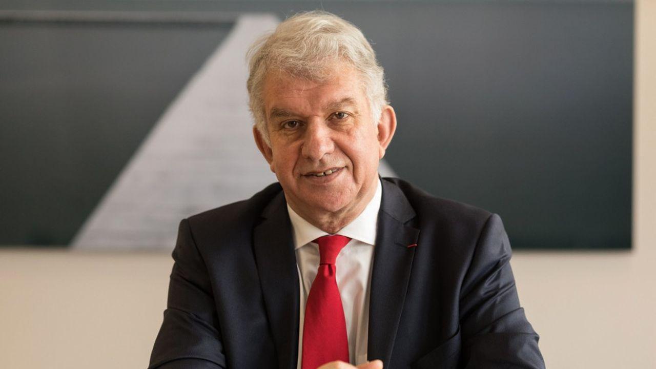 Yves Perrier, PDG du Groupe Amundi, leader europeen, l'un des premiers groupes mondiaux dans le domaine de la gestion d'actifs *** Local Caption *** Finances