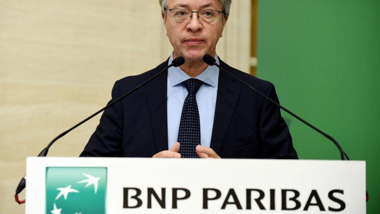 BNP Paribas (photo: son patron, Jean-Laurent Bonnafé) est la première banque française à publier ses résultats du troisième trimestre.