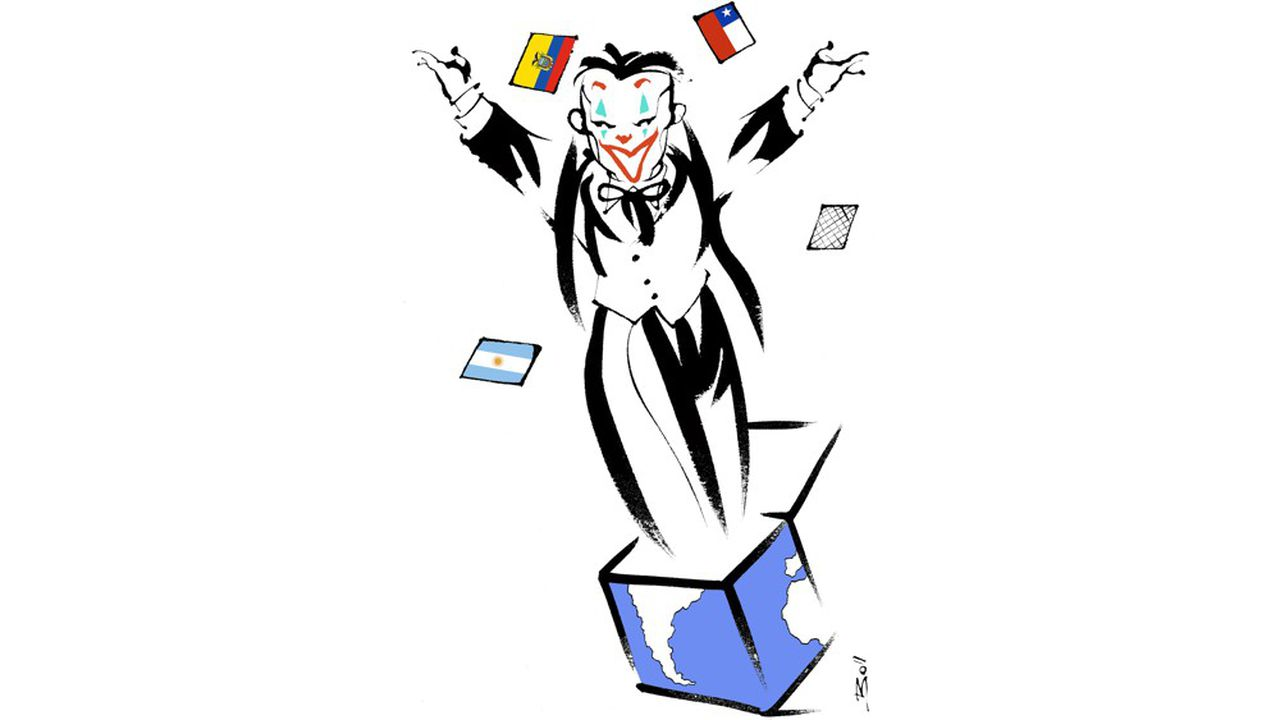 On peut trouver un point commun aux soubresauts actuels de l'Amérique du Sud : le rejet de l'austérité.