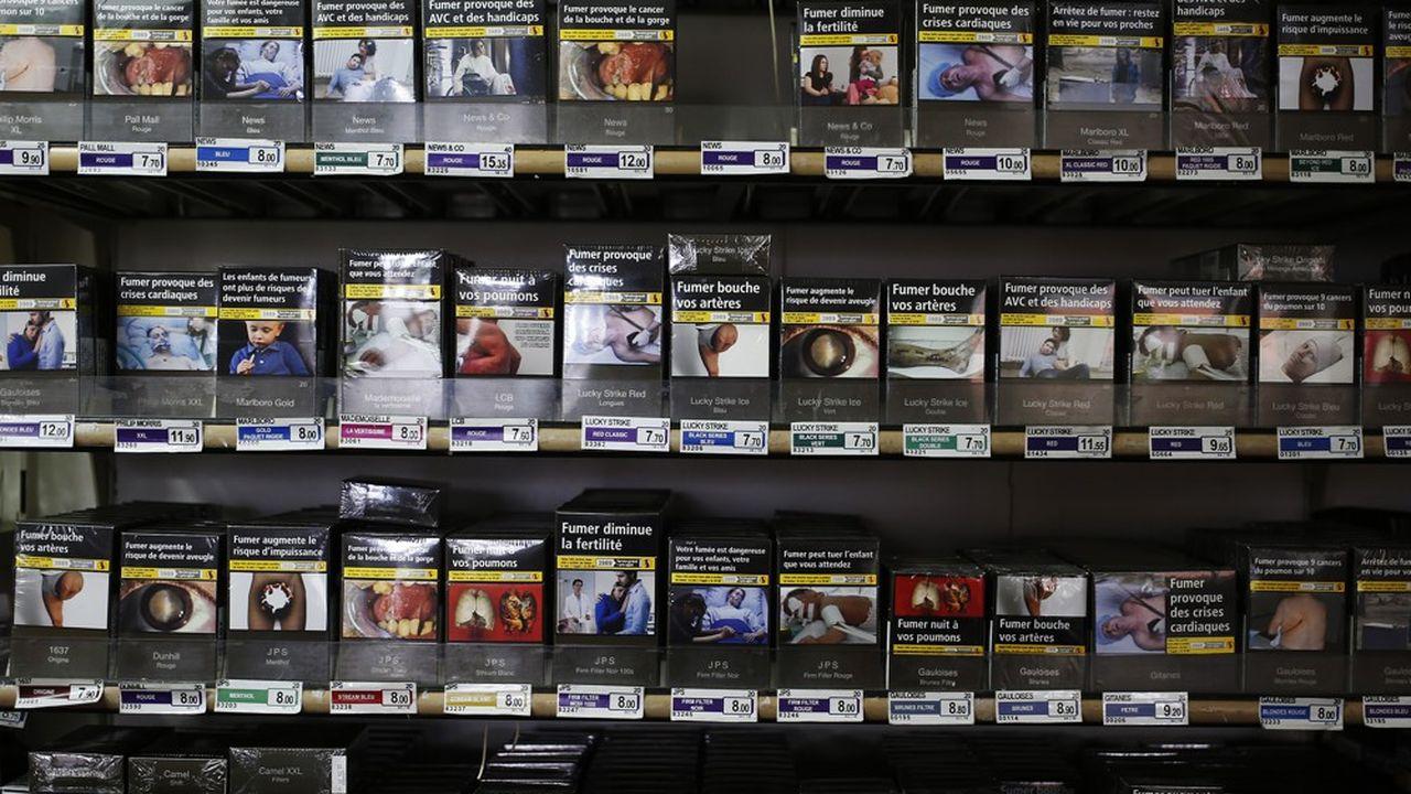 A partir du 1ernovembre le prix du paquet de vingt cigarettes augmentera en moyenne de 0,50 centime.