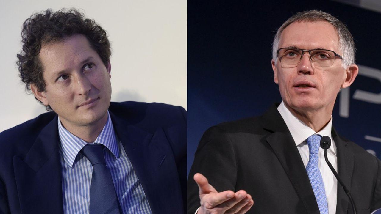 John Elkann, chef de file de la famille Agnelli, et Carlos Tavares, le patron de PSA, ont scellé leur accord final autour d'une longue réunion dimanche 27octobre, en région parisienne.