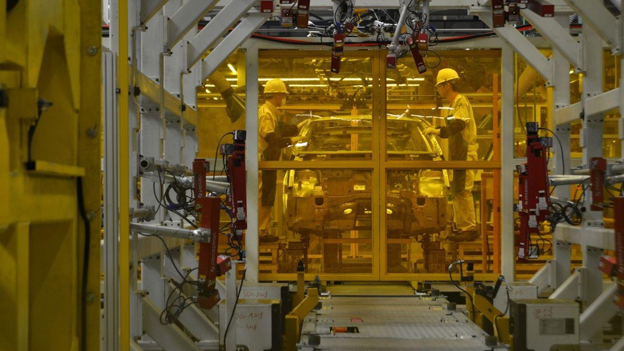 Inaugurée en septembre2013, l'usine qui produit des DS de Shenzhen est l'une des plus modernes du groupe PSA.