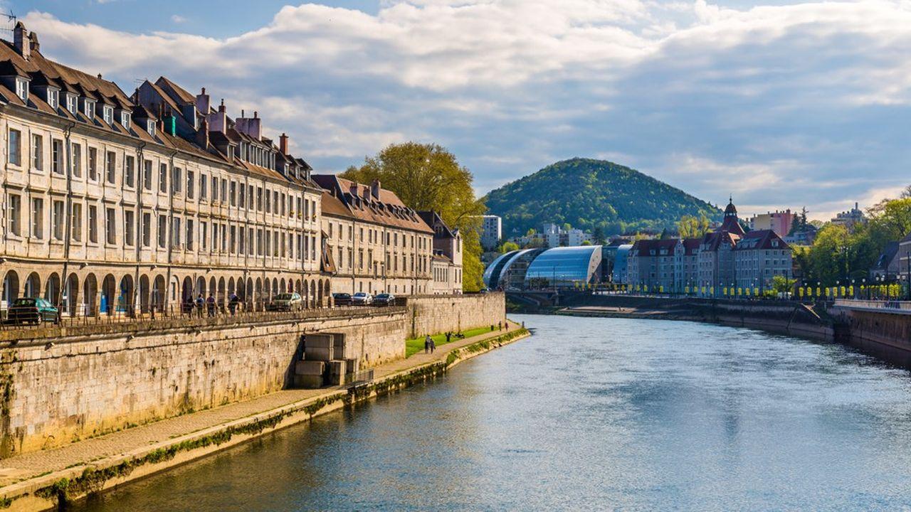 Besançon présente le meilleur équilibre entre prix de l'immobilier et offres d'emploi.