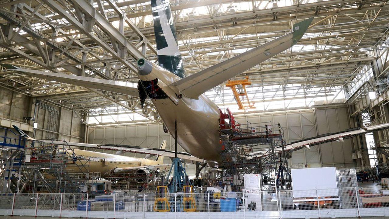 Sur les douze derniers mois, le seul secteur de l'aéronautique représente 41 % des exportations françaises en Chine.