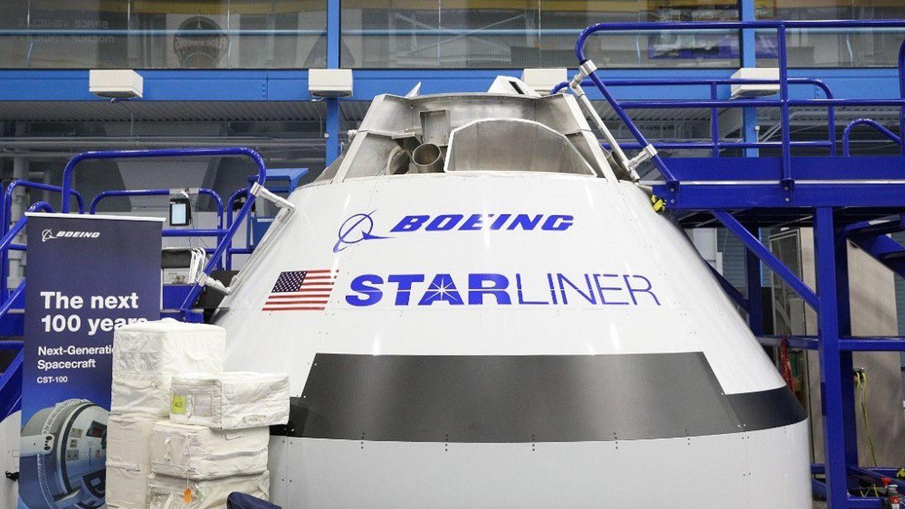 La capsule Starliner de Boeing a effectué un premier vol de quelques secondes au cours d'un test du système d'éjection de secours.