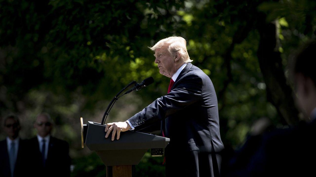 Les Etats-Unis entament leur retrait de l'accord sur le climat
