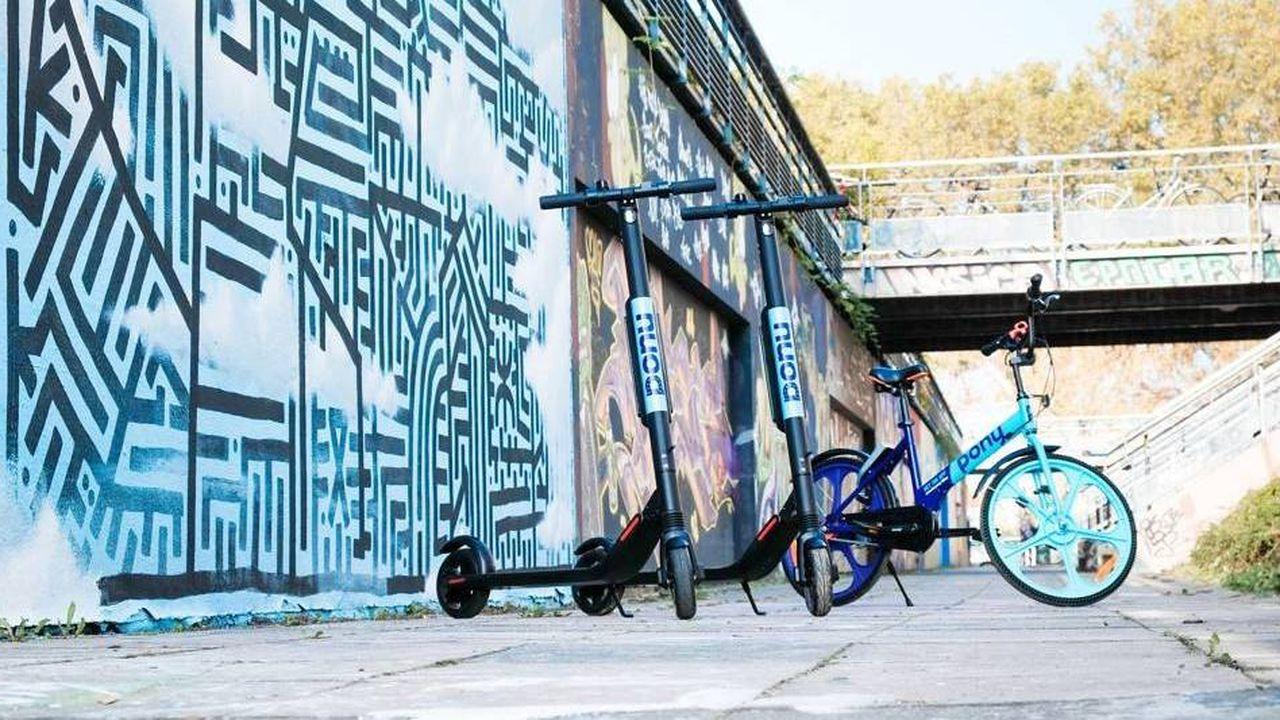Après avoir misé sur le vélo, Pony s'est diversifié en se lançant dans la trottinette en libre-service.