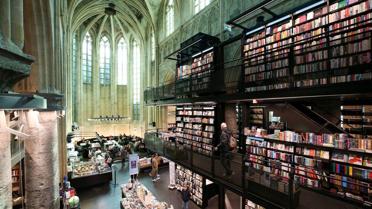 Au-delà d'Amsterdam, les Pays-Bas veulent promouvoir des villes historiques comme Maastricht (ici la Bibliothèque de l'église des Dominicains), Groningue ou Arnhem.