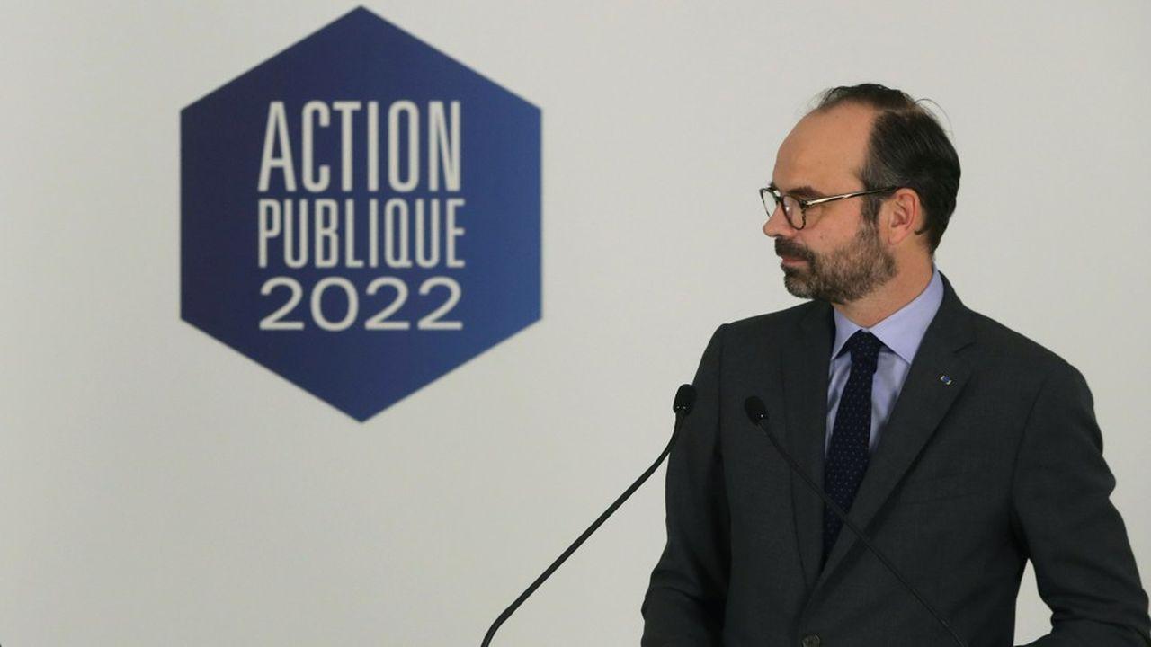 Edouard Philippe a inscrit cette chasse aux organismes publics inutiles dans le cadre de la réforme de l'Etat «Action publique 2022».