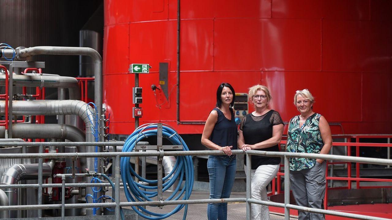 Kronenbourg compte environ un tiers de femmes parmi ses 1.200 salariés, dont la majorité sont cadres.