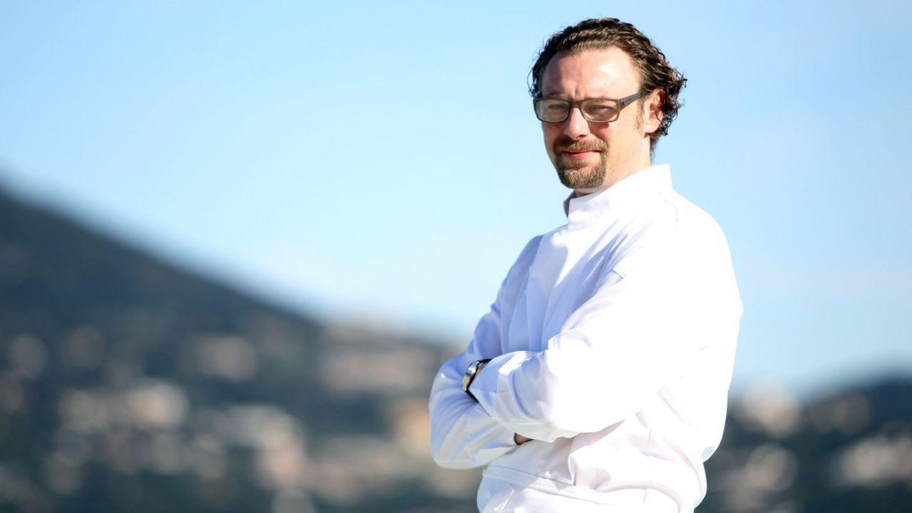 Arnaud Donckele bénéficie déjà d'une grande notoriété dans le monde de la restauration.