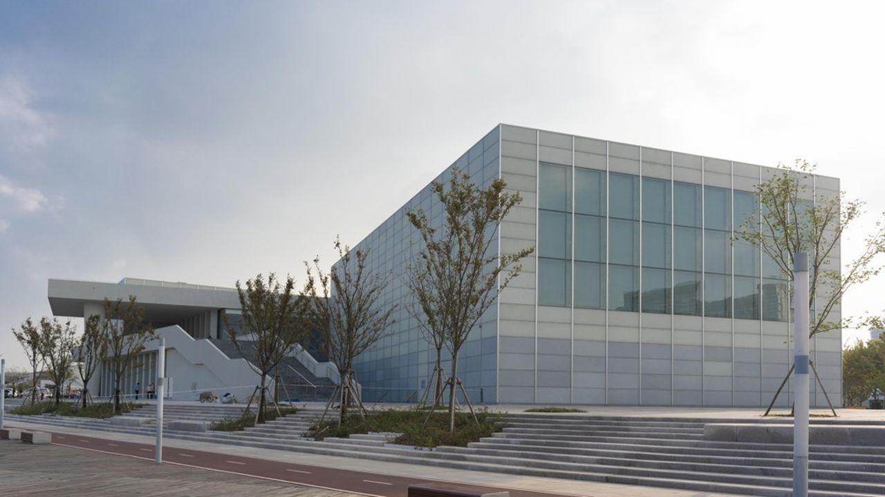 Le Centre Pompidou Shanghai s'installe dans un écrin dessiné par David Chipperfield.