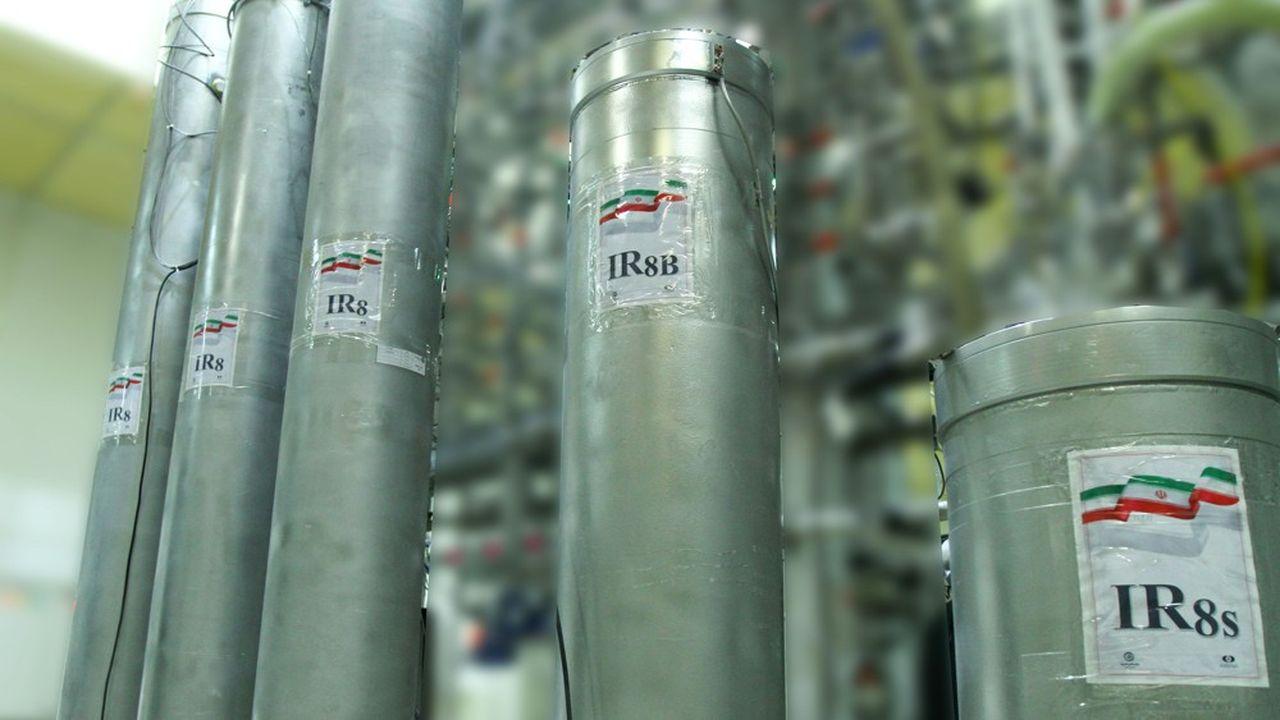 Les centrifugeuses iraniennes permettent désormais de séparer les isotopes d'uranium dix fois plus rapidement qu'il y a deux mois, selon Téhéran
