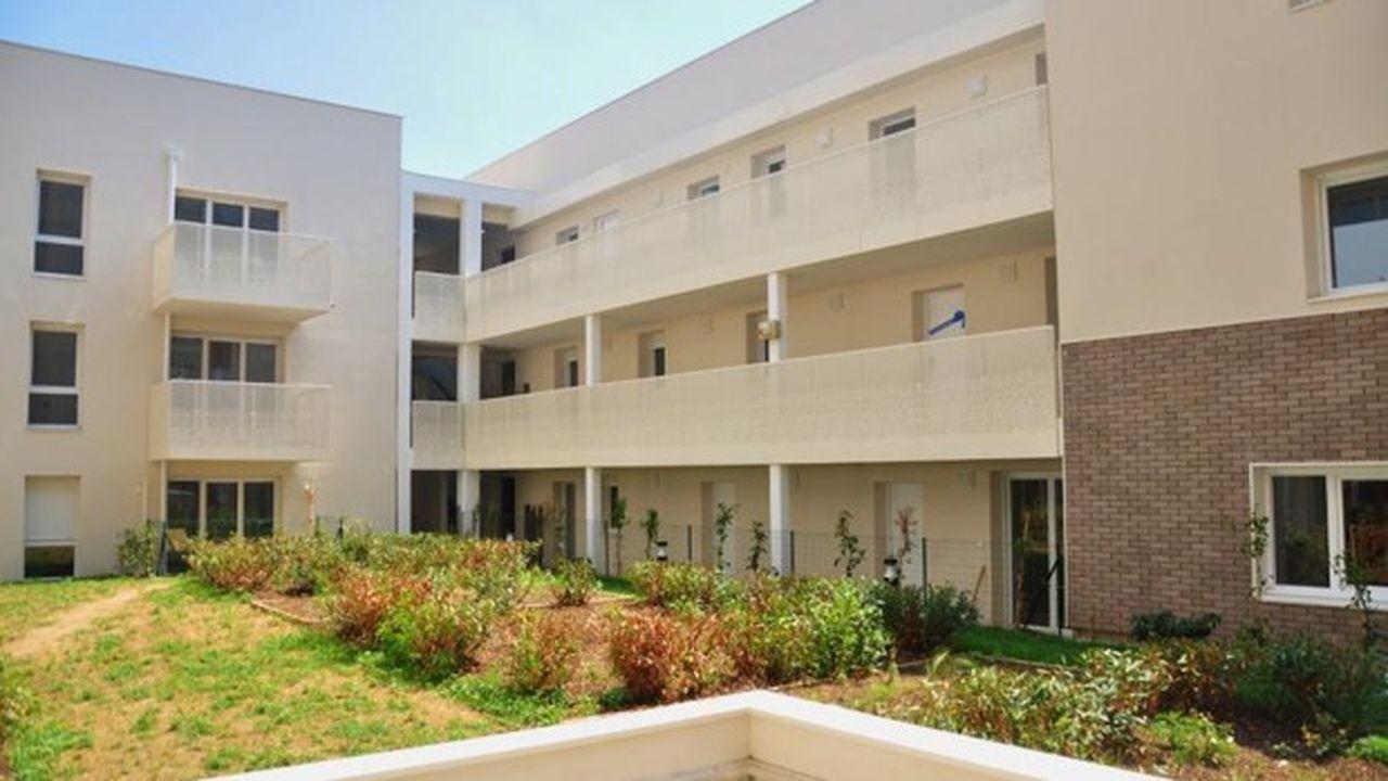 L'immeuble Habitat Partagé de la résidence Melodia, quartier Grand Clément à Villeurbanne, vient d'accueillir ses habitants.