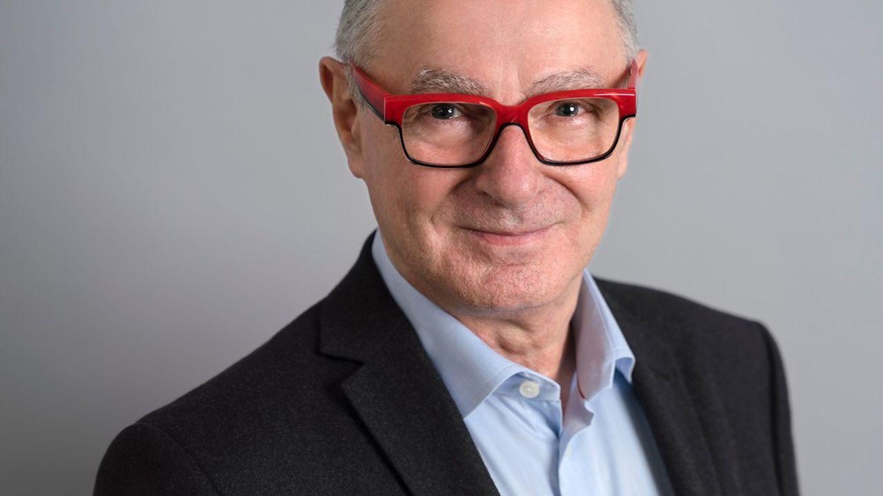 Gilles Avenard, président de la société Acticor Biotech.