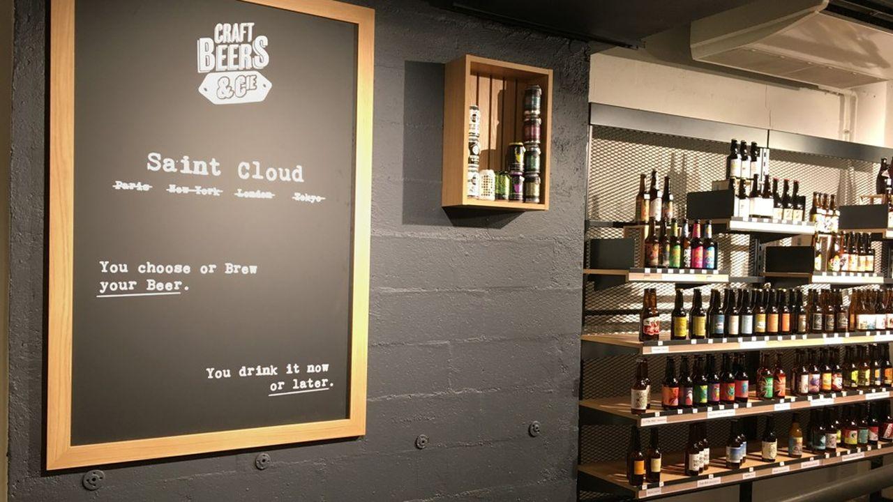 A Saint-Cloud, à l'ouest de Paris, on peut brasser sa propre bière.