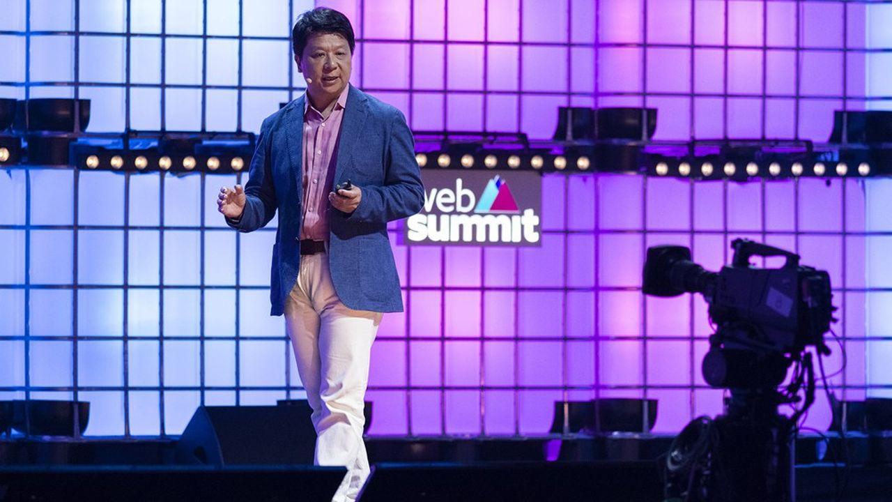 Guo Ping, l'un des trois PDG de Huawei, était l'une des têtes d'affiche du Web Summit qui se tient jusqu'à jeudi à Lisbonne.