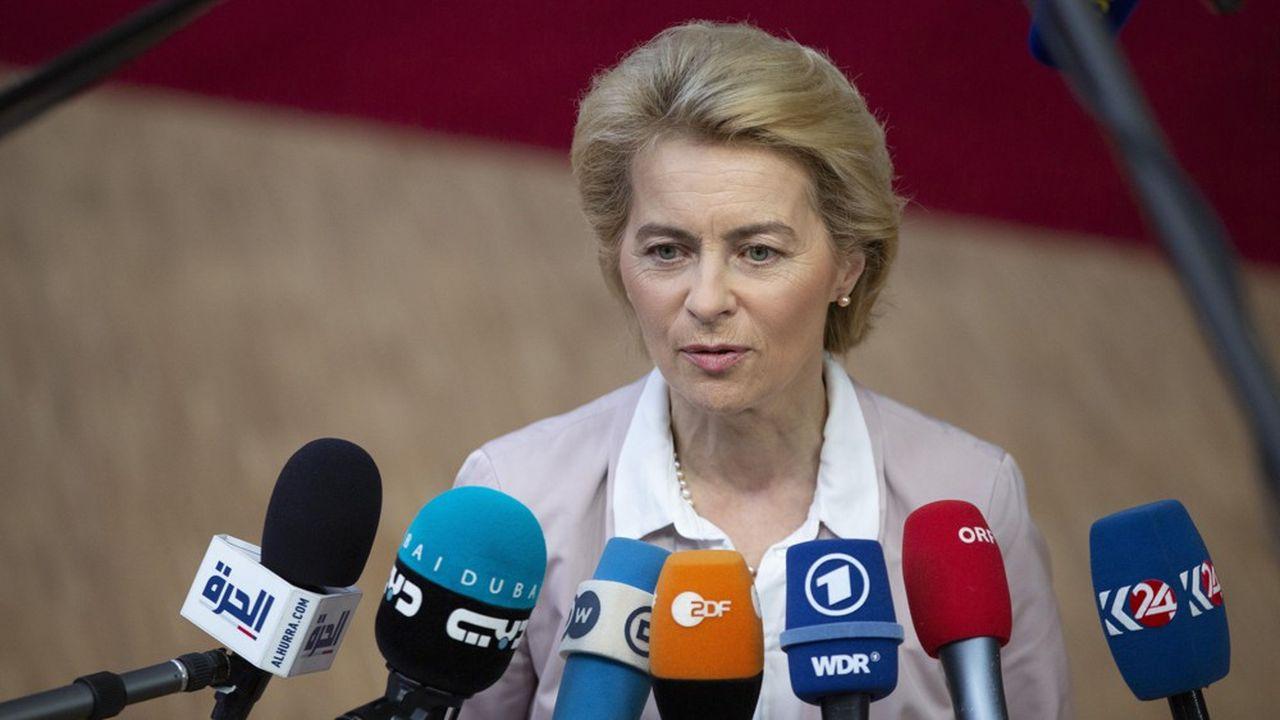 La future présidente de la Commission européenne, Ursula von der Leyen.