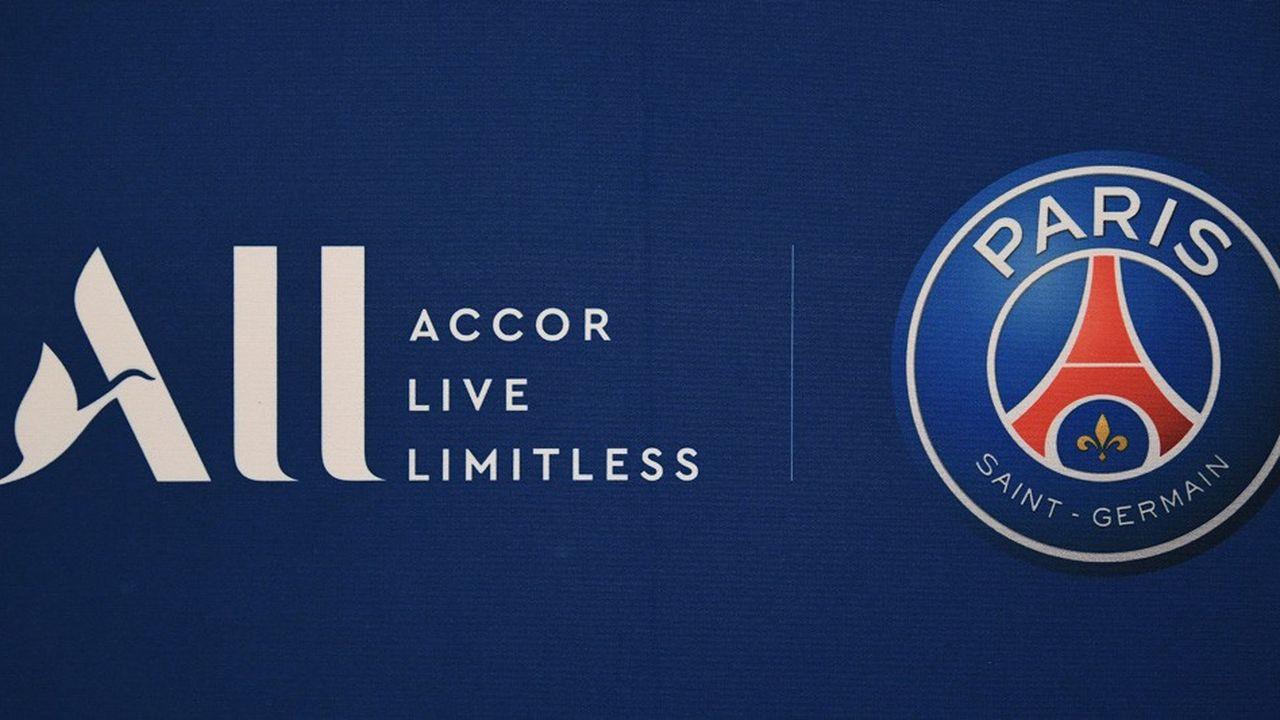 Avec l'équipementier Nike et ALL, la marque du groupe hôtelier Accor, le PSG a signé en 2018-2019, «les deux plus importants contrats de sponsoring de son histoire», indique le club.