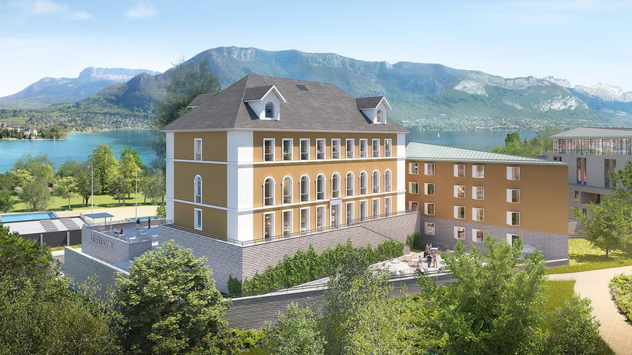 Le futur hôtel comptera 103 chambres et suites.