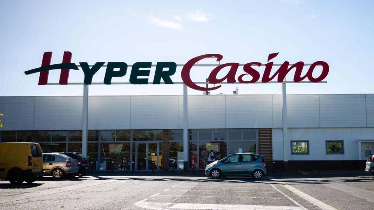 Un supermarché Casino àNemours en septembre2018.