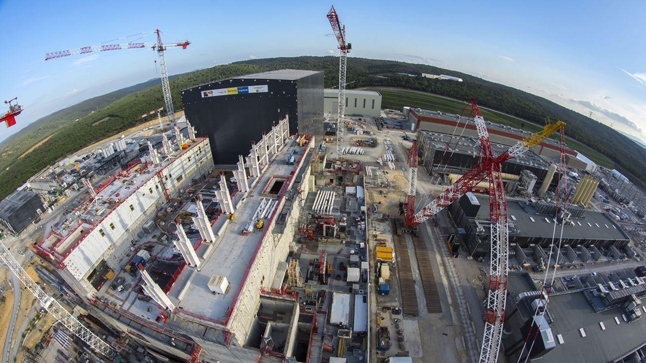 Le complexe tokamak du projet Iter est une installation de 23.000tonnes à comparer, par exemple, à seulement 3.000tonnes pour le réacteur d'une centrale nucléaire EPR, comme celle de Flamanville.