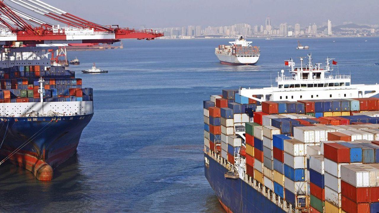 Les ventes chinoises ont progressé à destination des pays del'ASEAN mais aussi de l'Union européenne