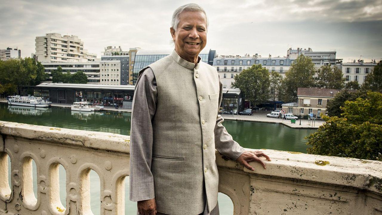 Pour Muhammad Yunus, « le monde des affaires doit se saisir de la lutte contre la pauvreté »