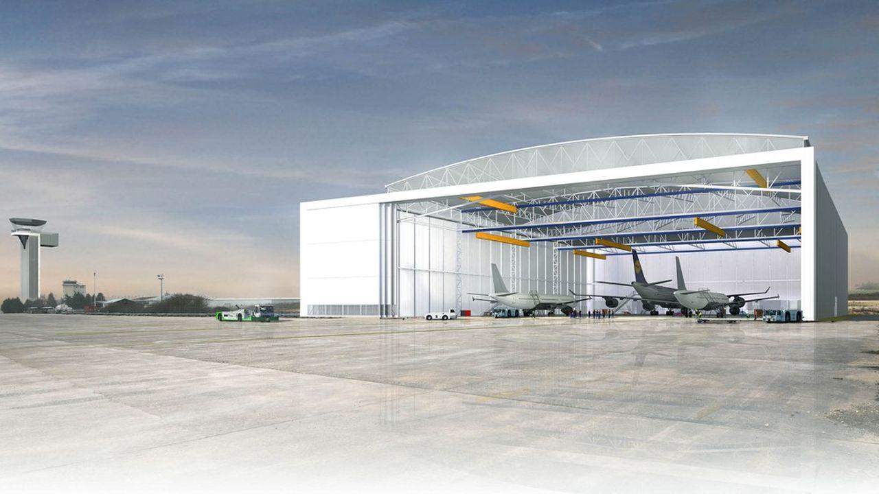 Un hangar géant va être construit sur l'aéroport de Châteauroux.