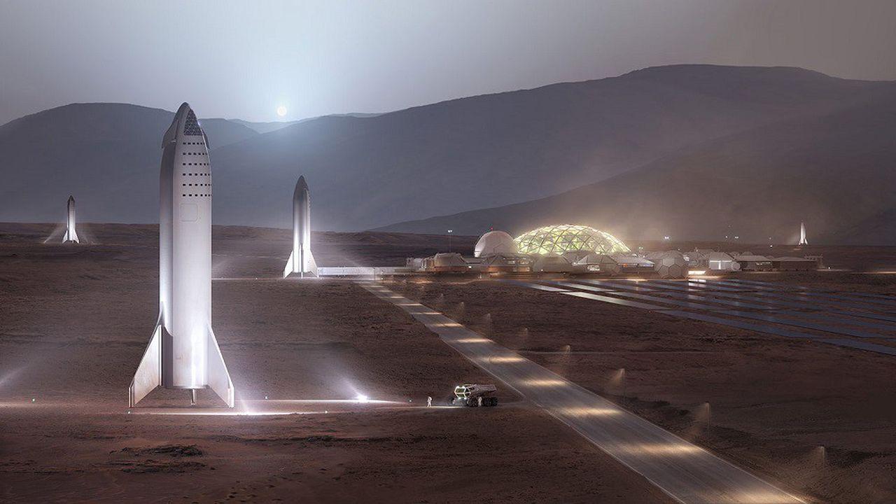 Pour Elon Musk, il faudra 20 ans et 1.000 fusées pour habiter Mars