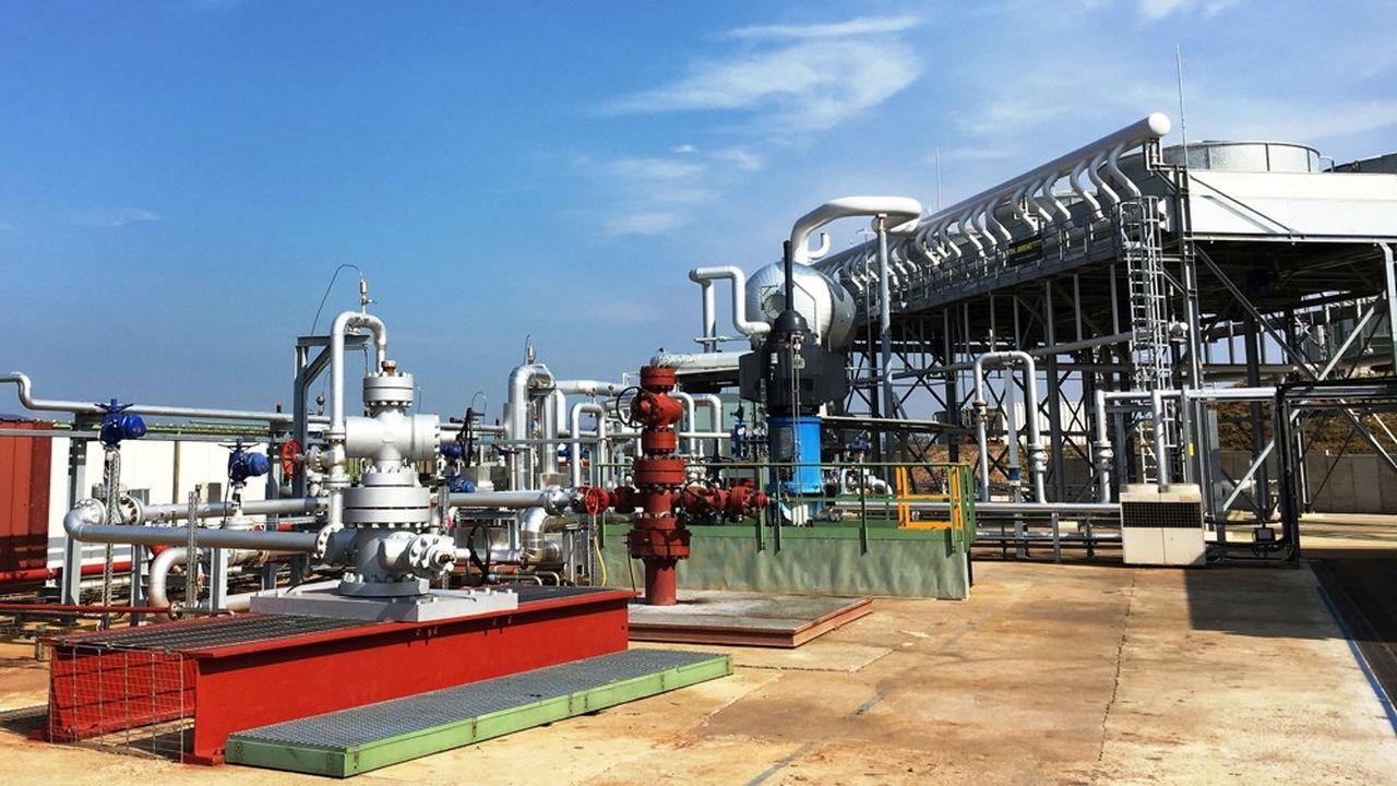 Les réserves de carbonate de lithium du fossé rhénan, à cheval sur la France et l'Allemagne, sont estimées entre 10 et 40millions de tonnes, précise Fonroche Géothermie.