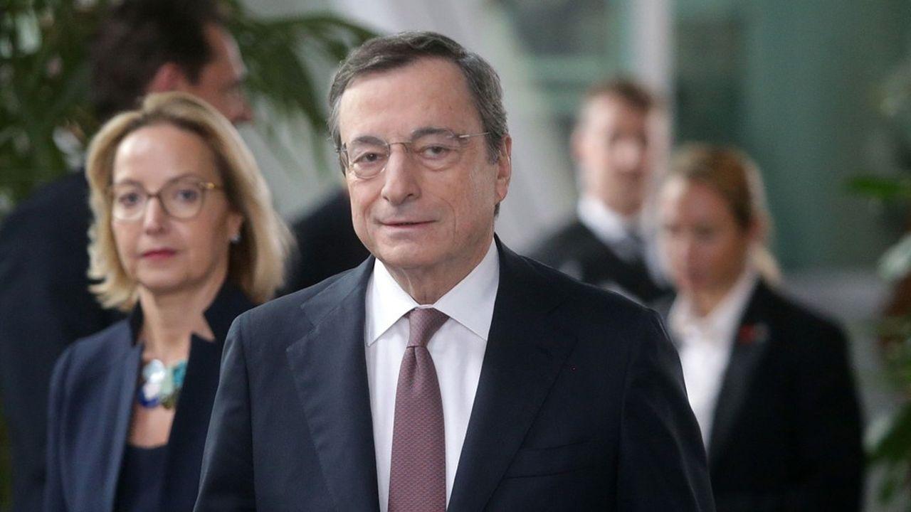L'ancien président de la BCE, Mario Draghi, à l'origine de la politique monétaire expansionniste.