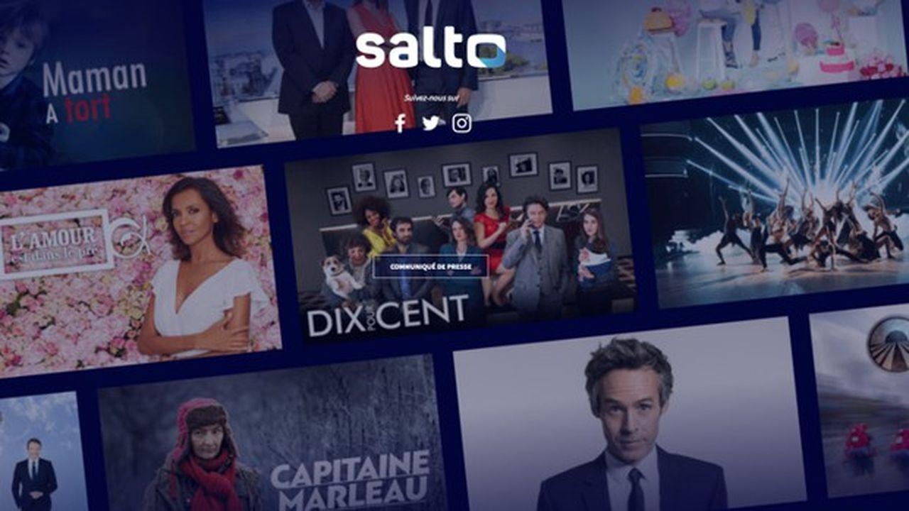 Salto est un projet de streaming commun entre TF1, M6 et France Télévisions.