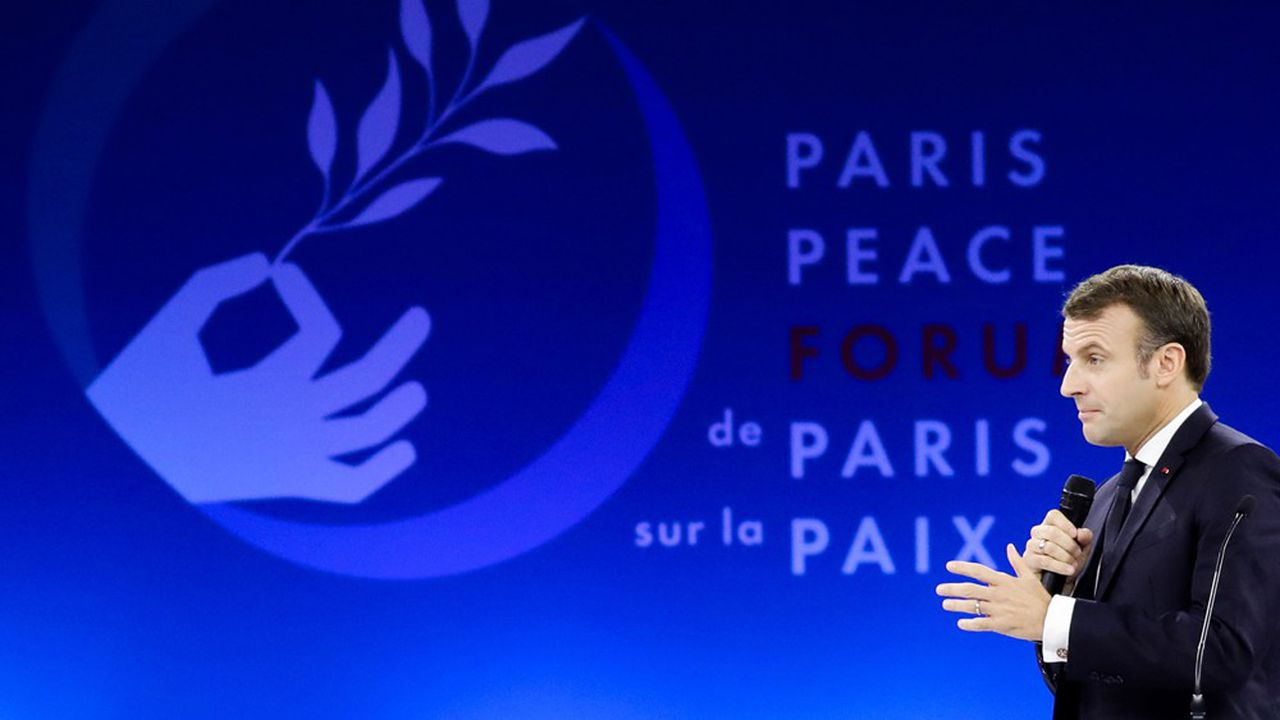 Forum sur la Paix : Macron se fait le chantre de la « coopération équilibrée »
