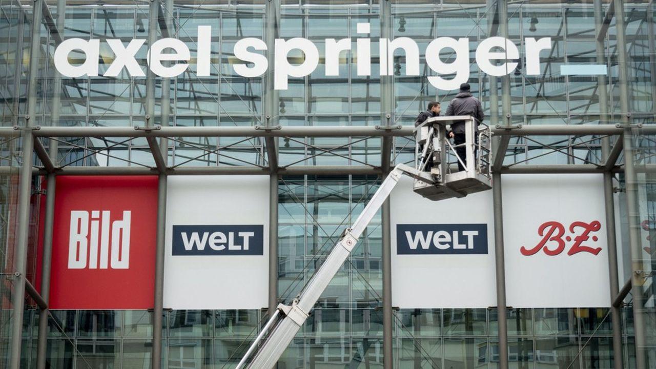 Dans l'immobilier digital, Axel Springer affirme vouloir se démarquer des Gafa, de puissants concurrents dans ce domaine.