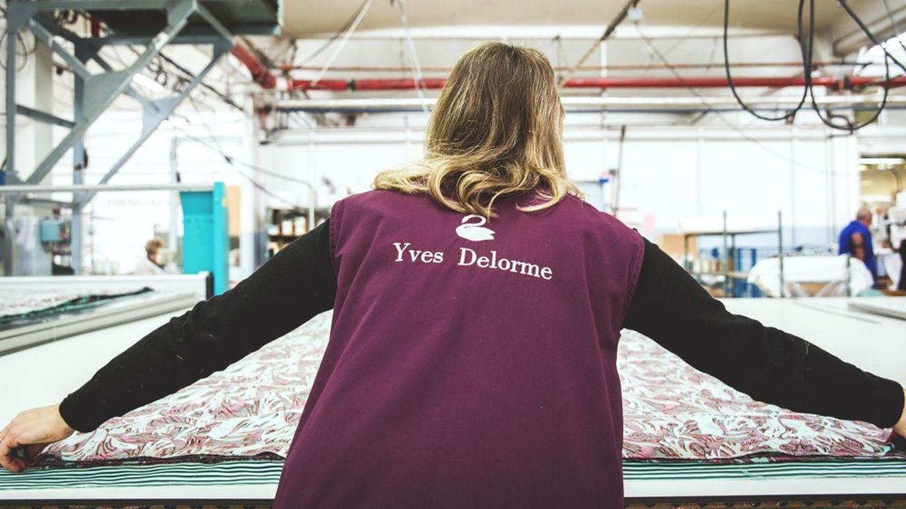 Yves Delorme est la marque phare du groupe Fremaux-Delorme et compte 450 boutiques dans le monde.
