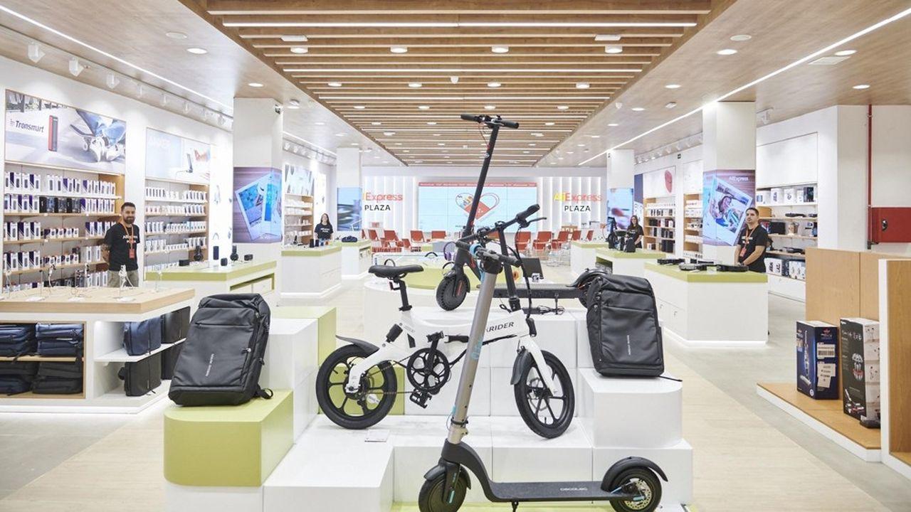 Aliexpress a ouvert un magasin physique à Madrid en Espagne.