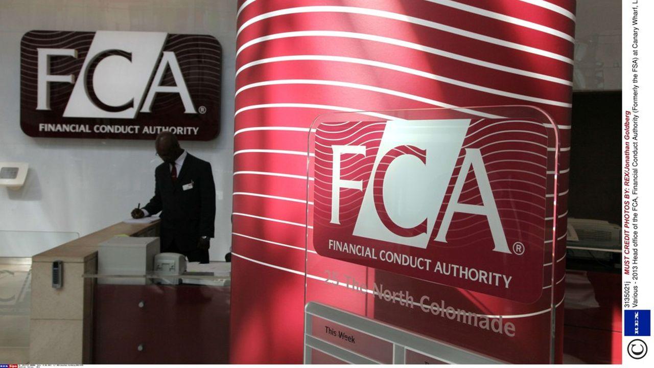 La FCA supervise les marchés financiers britanniques.