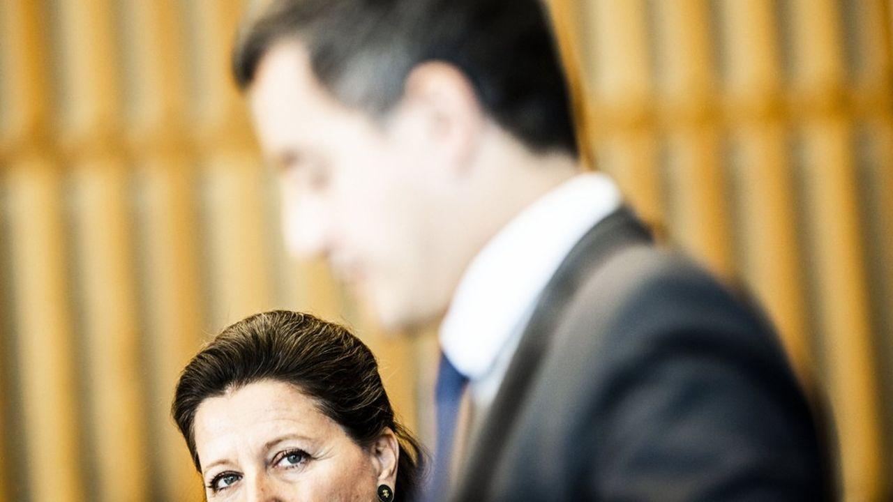Proches au début du quinquennat, Agnès Buzyn, ministre de la Santé, et Gérald Darmanin, ministre de l'Action et des Comptes publics, doivent désormais gérer des divergences.
