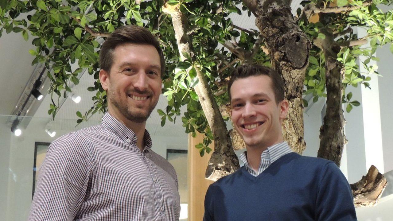 Jean-Bernard (à gauche) et Hugo Melet (à droite), les deux frères qui ont fondé EldoTravo.