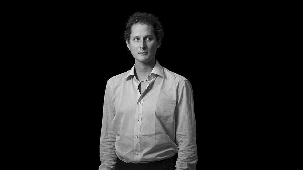 John Elkann, à Turin en septembre 2012.