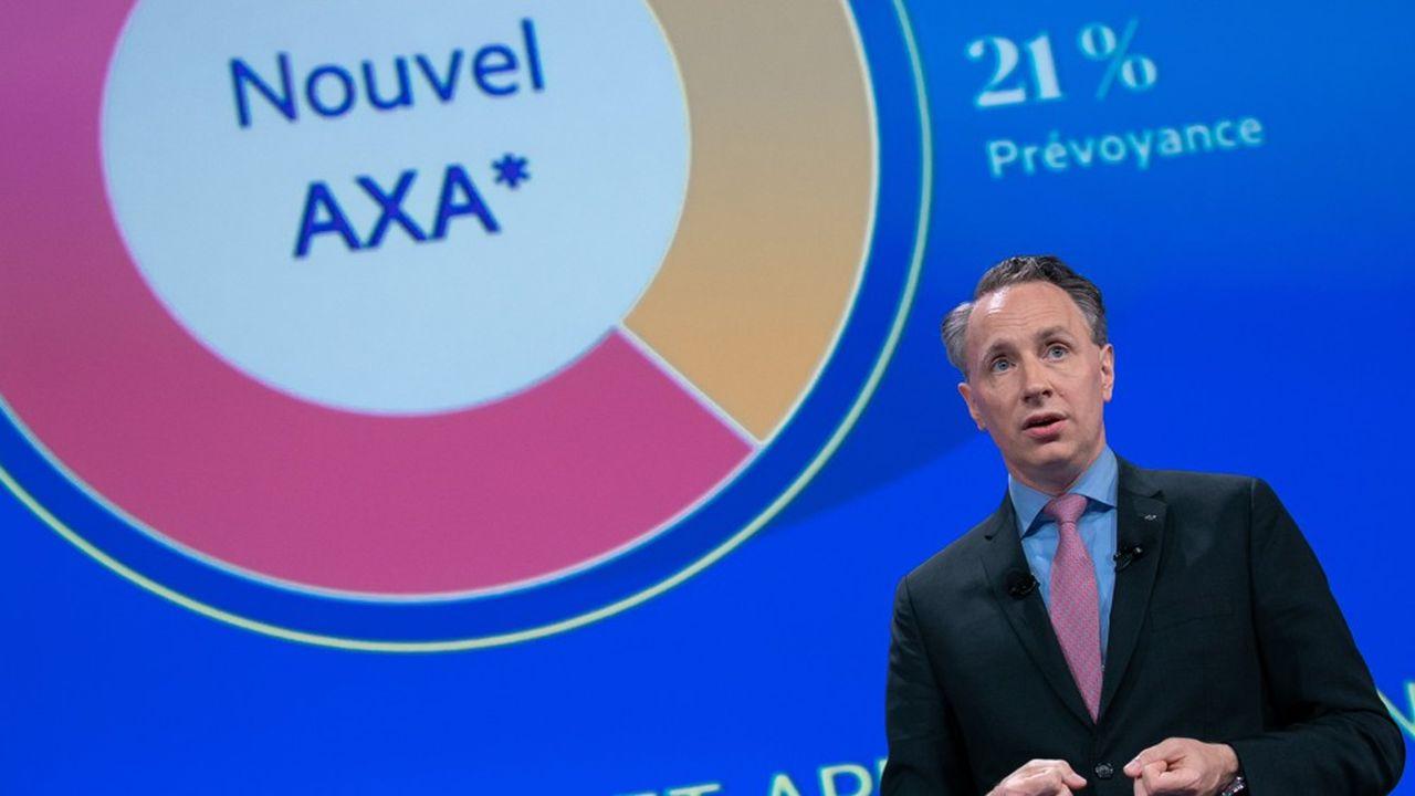 Thomas Buberl, directeur général d'AXA.