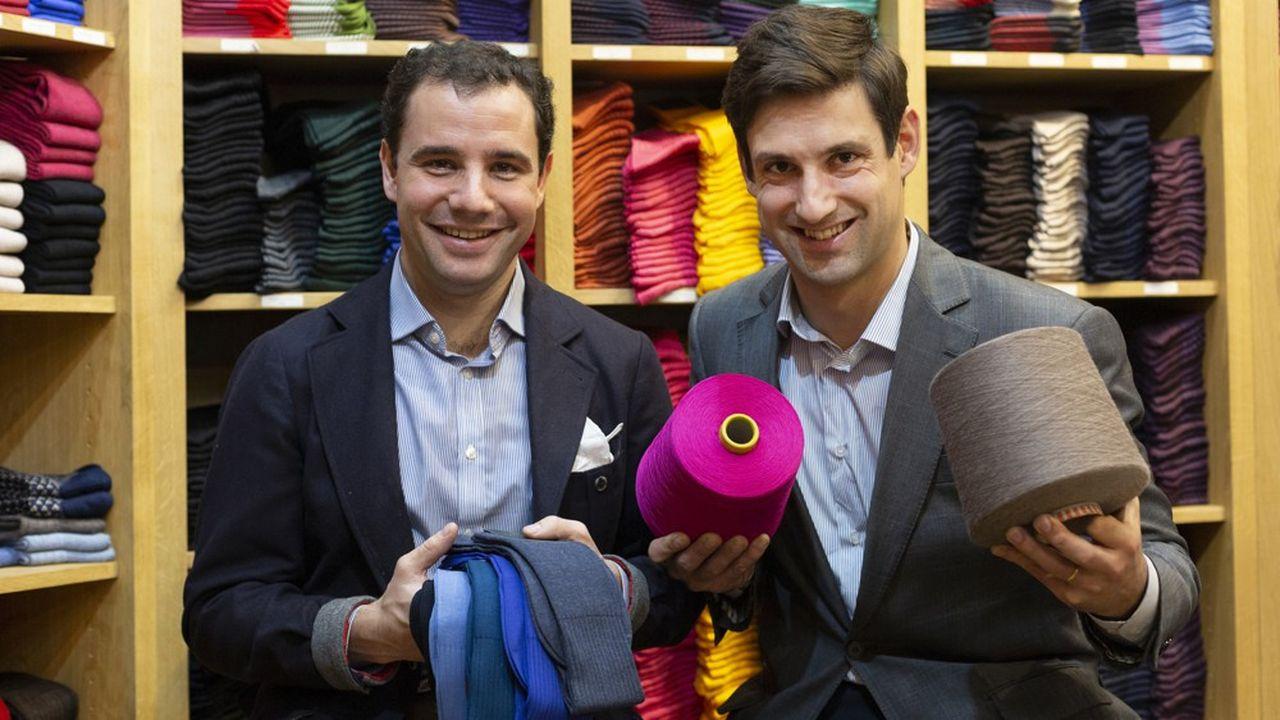 Vincent Metzger et Jacques Tiberghien ont lancé le site à leur sortie de HEC et de l'ESCP.
