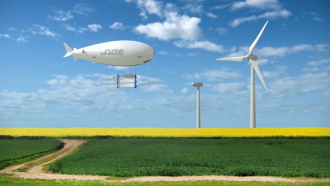 Le dirigeable promet de transporter une charge de 60 tonnes à 100kilomètres/heure à 3.000mètres d'altitude.