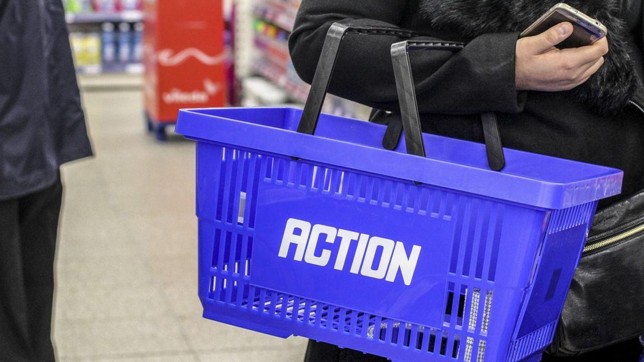 Avec déjà 1.473 magasins en Europe, pour un effectif de 46.000 salariés, Action compte ouvrir plus de 1.250 nouveaux points de vente d'ici à quatre ans.