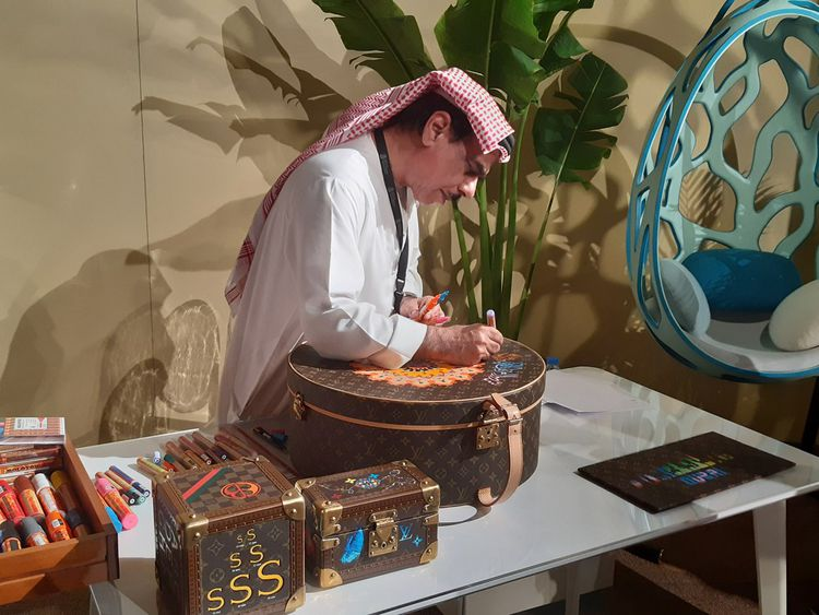 Engager des «conversations» entre artisans français et émiriens, c'est une des opérations de séduction menée par le Comité Colbert dans l'Emirat jusqu'au 28novembre.