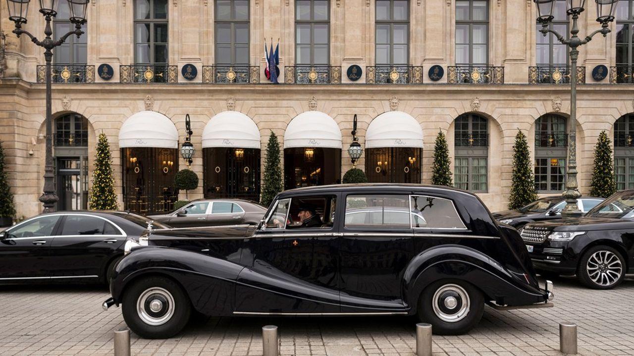 Le Ritz Paris ou le Plaza Athénée sont parmi les adresses favorites de la clientèle du Moyen-Orient.