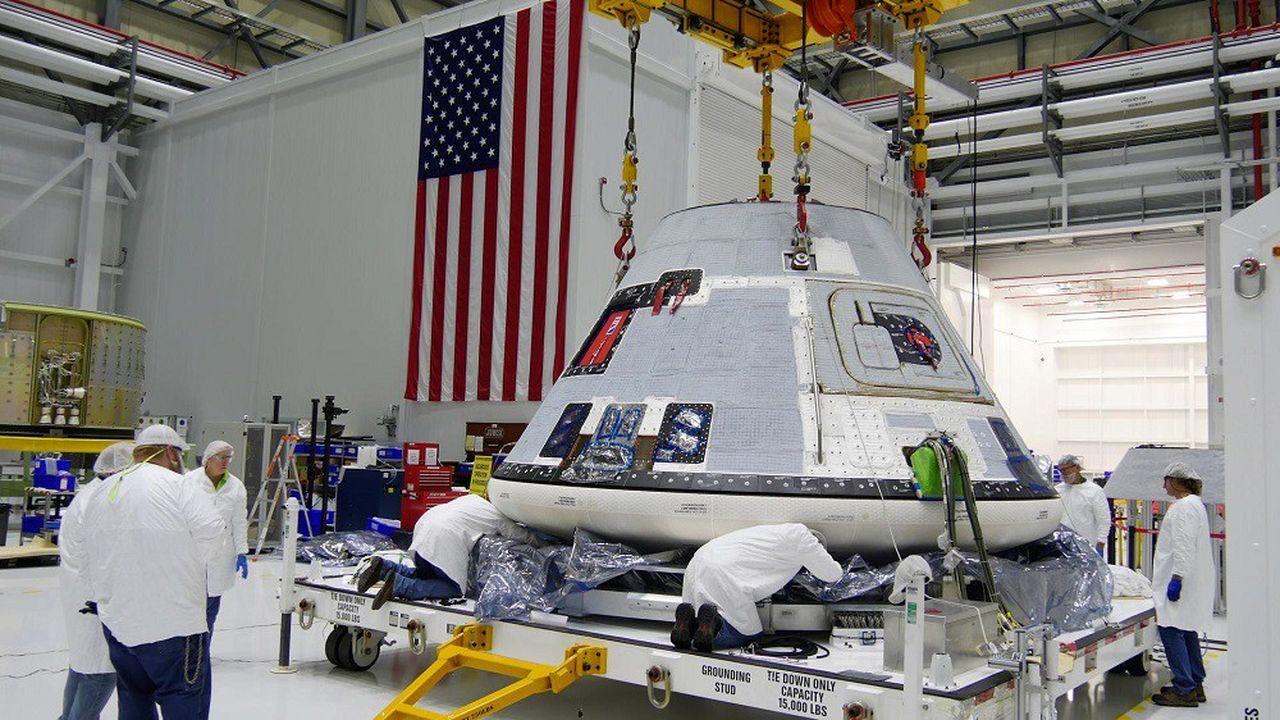 Boeing a été désigné en 2014 pour concevoir l'une des futures capsules devant emporter un équipage vers l'ISS.